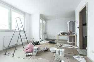 Home,Renovation,In,Room,Full,Of,Painting,Tools